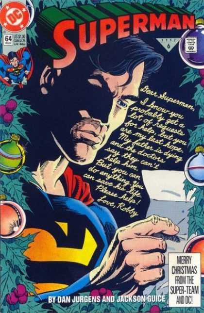 Superman (1987) 64 - Christmas - Letter - Robby