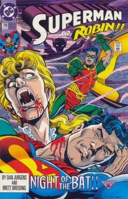 Superman (1987) 70 - Dc - Dc Comics - Superman - Robi - Super And Robin - Dan Jurgens