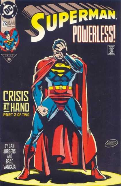Superman (1987) 72 - Powerless - Dan Jurgens