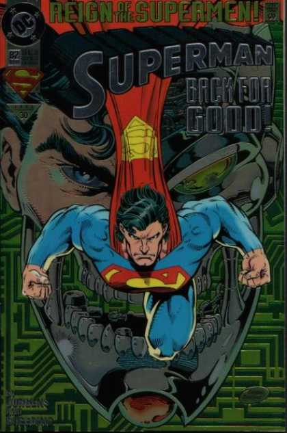 Superman (1987) 82 - Cape - Dan Jurgens
