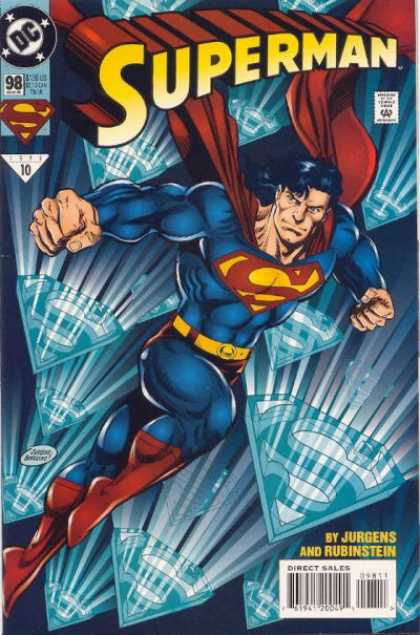 Superman (1987) 98 - Blue - Dan Jurgens