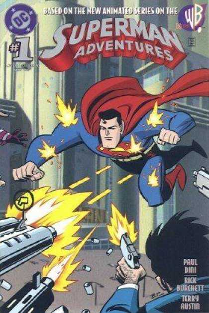 Superman Adventures 1 - Superman - 1 - Rick Burchett - Terry Austin - Paul Dini - Bruce Timm