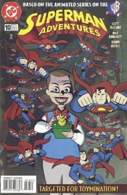Superman Adventures 10 - Animated - Series - Targeted For Toymination - Wb - 10 - Terry Austin
