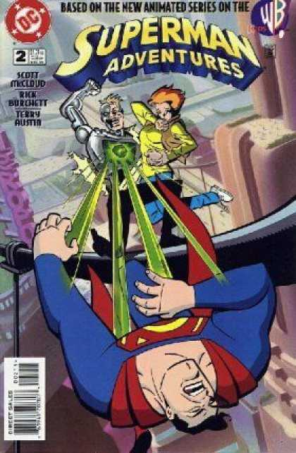 Superman Adventures 2 - Scott Mccloud - Rick Burchett - Terry Austin - Lasers - Superman Hurt - Terry Austin