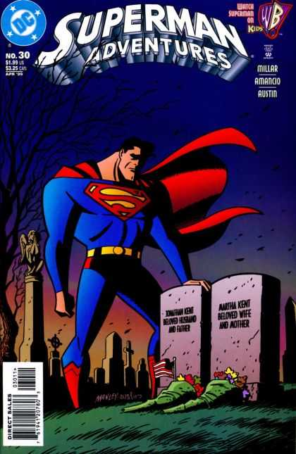 Superman Adventures 30 - Dc - Millar - Amancio - Austin - Direct Sales - Mike Manley, Terry Austin