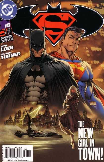 Superman/ Batman 8 - Loeb - Turner - New Girl - Town - City