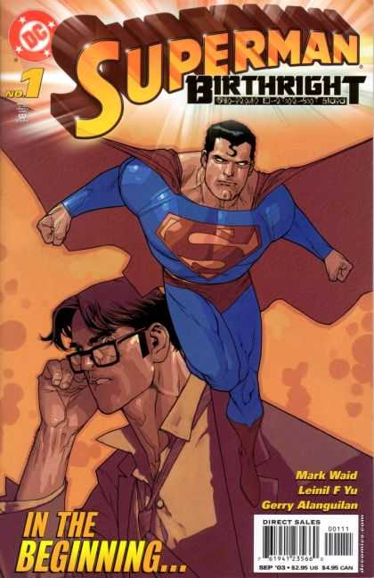Superman: Birthright 1 - Dc - No 1 - Glasses - Clark Kent - Beginning - Leinil Yu