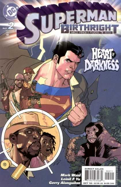 Superman: Birthright 2 - Back In Action - S Is The Word - Militant Monkeys - Target Shocked - Crack In The Sky - Leinil Yu