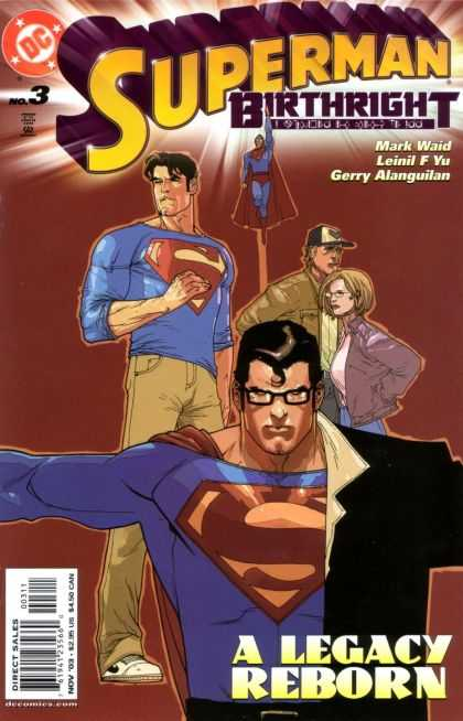 Superman: Birthright 3 - Leinil Yu