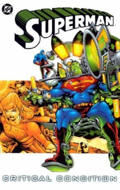 Superman Books - Superman: Critical Condition (Book 4)
