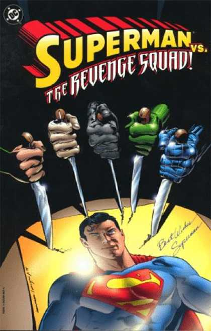 Superman Books - Superman vs. the Revenge Squad!