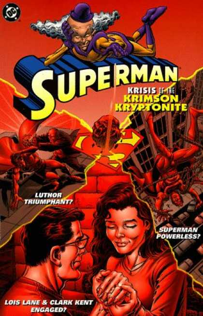 Superman Books - Superman: Krisis of the Krimson Kryptonite