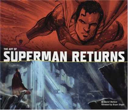 Superman Books - The Art of Superman Returns