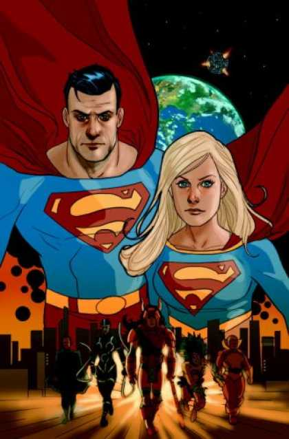 Superman Books - Superman/Supergirl: Maelstrom