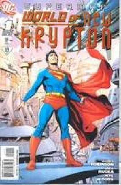 Superman Books - Superman World of New Krypton #1