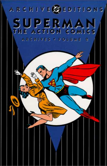 Superman Books - Superman The Action Comics Archives, Vol. 2 (DC Archive Editions)