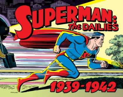 Superman Books - Superman: The Dailies 1939-1942