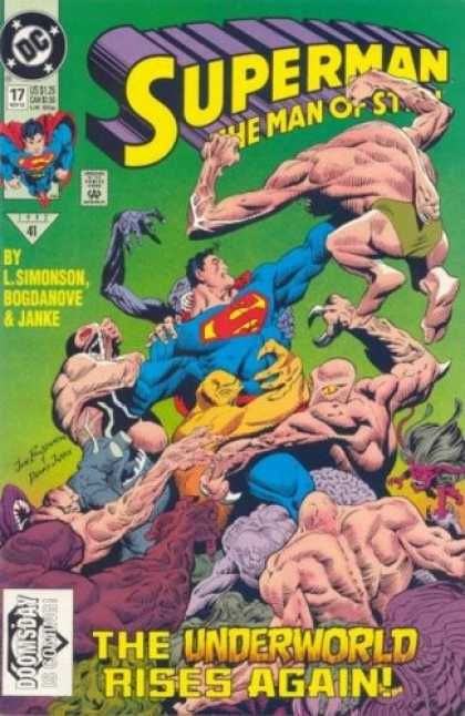 Superman Books - Superman the Man of Steel #17 - 1st appearance of Doomsday (Superman: The Man of