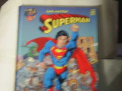 Superman Books - Look and Find Superman