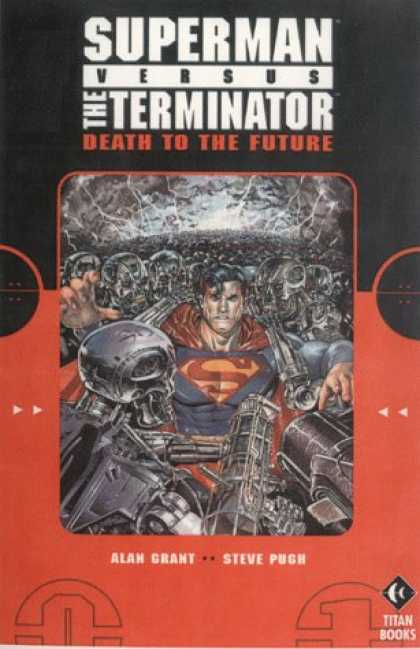 Superman Books - Superman Vs. Terminator: Death to the Future