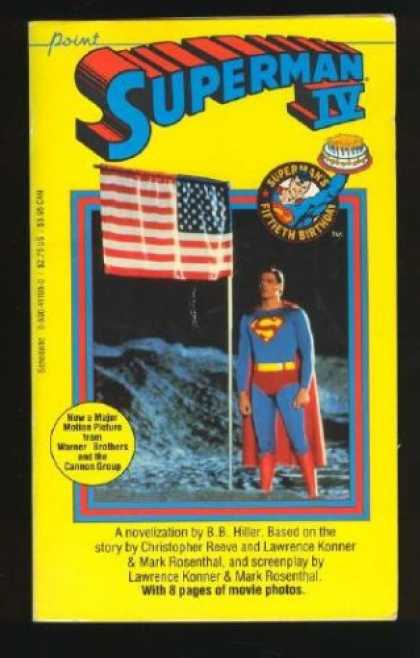 Superman Books - Superman IV (mm)