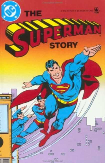Superman Books - The Superman Story