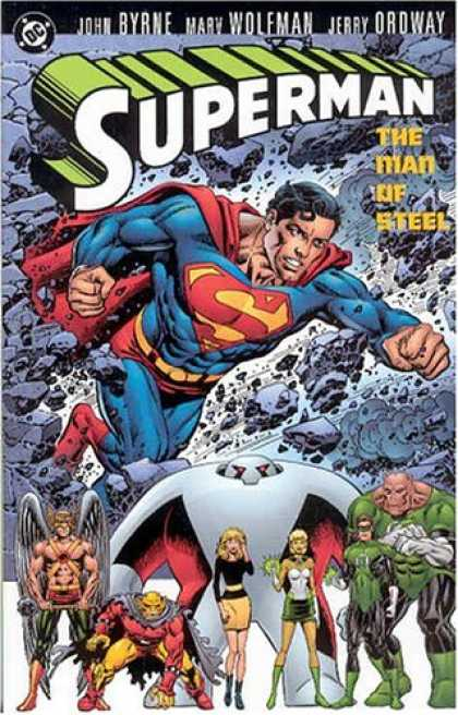 Superman Books - Superman: The Man of Steel, Vol. 3