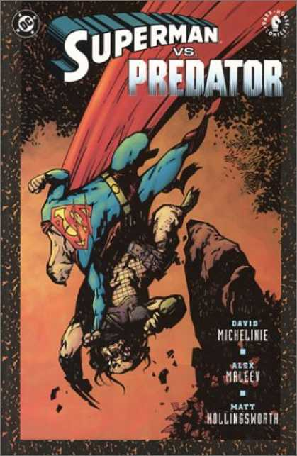 Superman Books - Superman vs. Predator