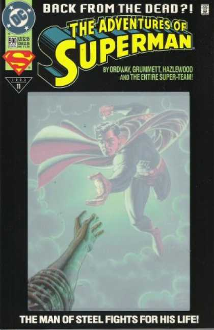 "Superman Books - DC Comics & Jerry Siegel & Joe Shuster Presents; The Adventures of Superman ""Lif"