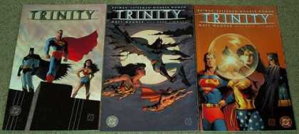 Superman Books - Trinity Batman Superman Wonder Woman # 1, 2 and 3. (The Complete Three Part Limi