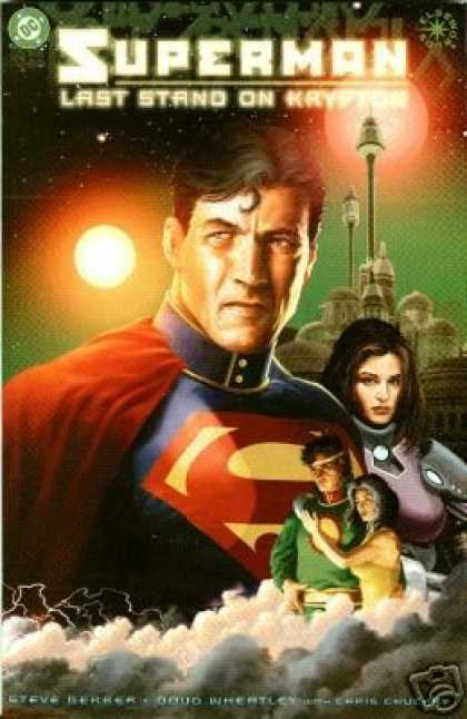 Superman Books - Superman: Last Stand On Krypton (Elseworlds)
