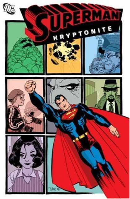 Superman Books - Superman: Kryptonite (Superman: Confidental, Book 1)