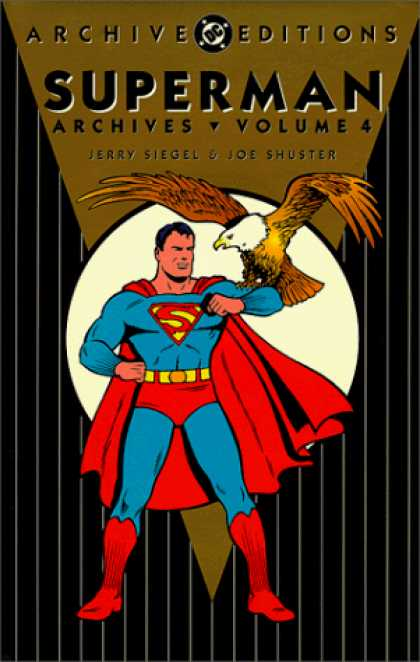 Superman Books - Superman Archives, Vol. 4 (DC Archive Editions)