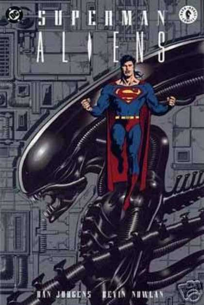 Superman Books - Superman Vs. Aliens Book 1