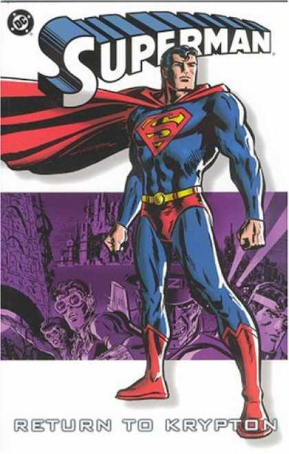 Superman Books - Superman: Return to Krypton