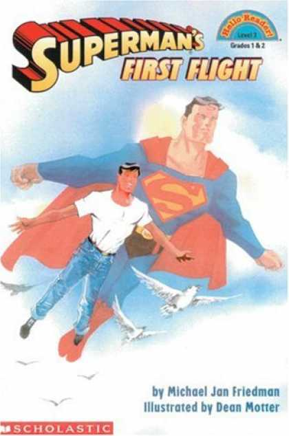Superman Books - Superman's First Flight (Hello Reader)
