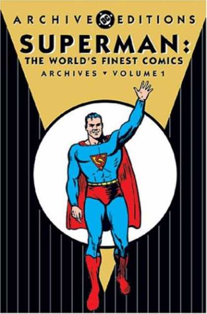 Superman Books - Superman: World's Finest Comics Archives, Vol. 1 (DC Archive Editions)