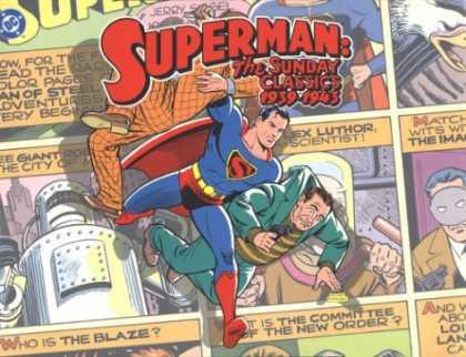 Superman Books - Superman: The Sunday Classics : Strips 1-183, 1939-1943