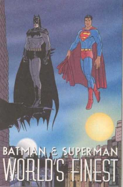 Superman Books - Batman & Superman: World's Finest