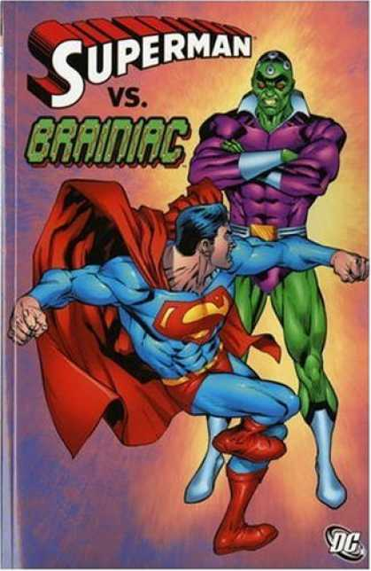 Superman Books - Superman Vs Brainiac