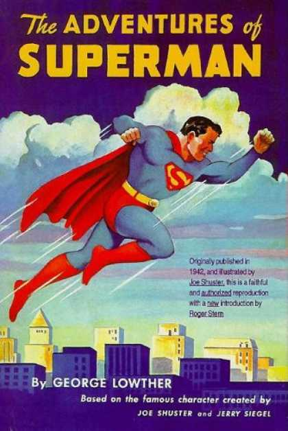 Superman Books - The Adventures of Superman