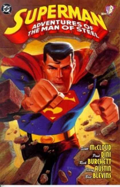Superman Books - Superman: Adventures of the Man of Steel