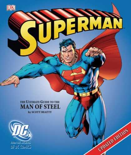 Superman Books - Superman: The Ultimate Guide to the Man of Steel