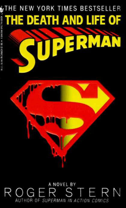 Superman Books - The Death and Life of Superman