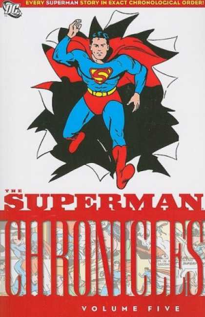 Superman Books - Superman Chronicles, Vol. 5
