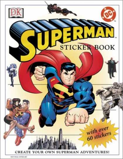 Superman Books - Superman: Sticker Book