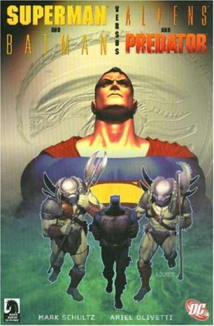Superman Books - Superman/Batman Vs. Alien & Predator (Superman (Graphic Novels))