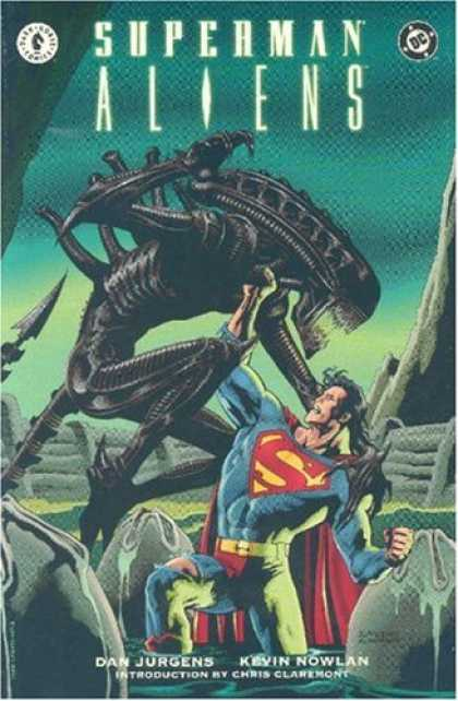 Superman Books - Superman/Aliens