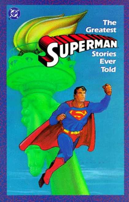 Superman Books - Greatest Superman Stories Ever Told