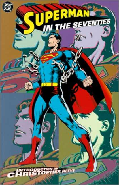Superman Books - Superman in the Seventies
